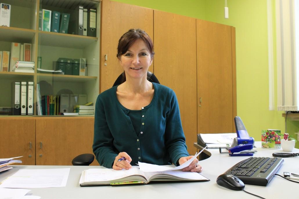Schulleiterin Brigitte Conchedda 70 b